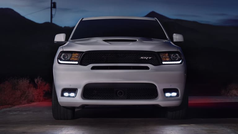 Dodge puts some American muscle into the 2018 Durango SRT