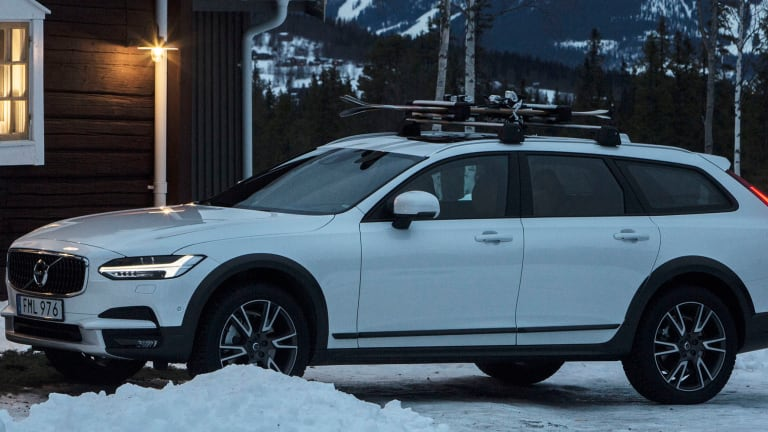 Volvo and Tablet offer up the perfect way to experience the V90 in its natural habitat