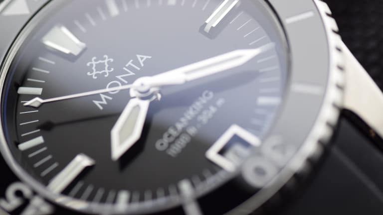 Monta launches its first dive watch, the Oceanking