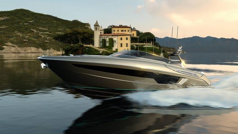 The Riva 56' is 2000-hp of ocean-exploring luxury