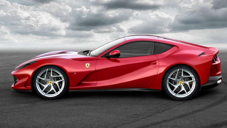 Ferrari reveals its new super-coupe, the 812 Superfast