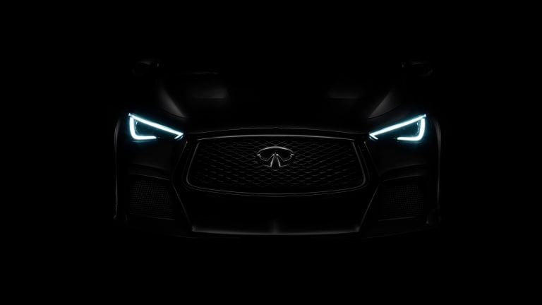 Infiniti debuts its new performance line