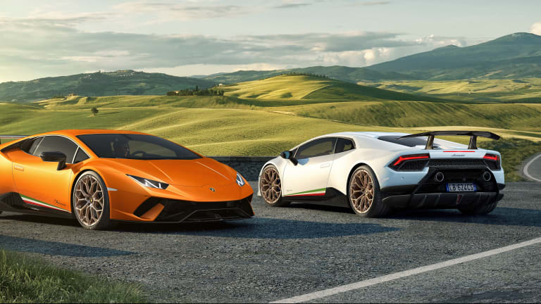 Lamborghini's newest Huracán uses its most powerful V10 to date