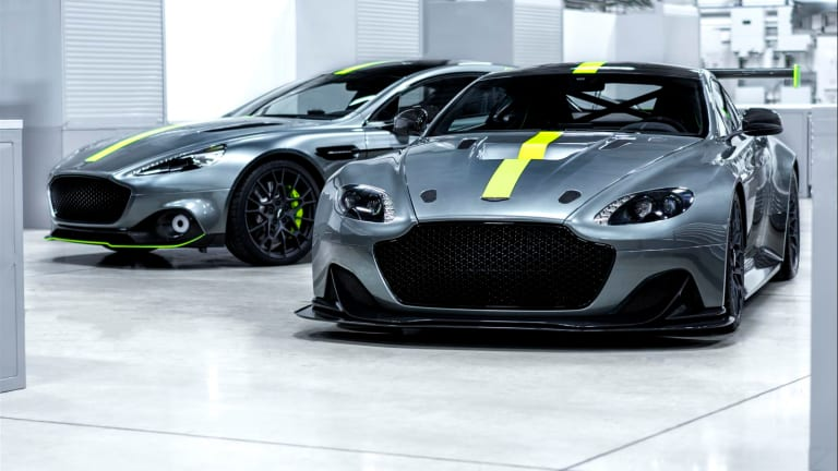 Aston Martin feeds its insatiable appetite for speed with its new AMR models