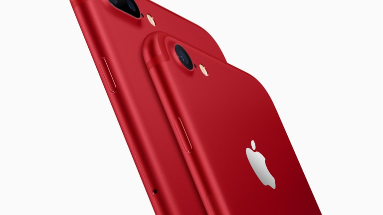 Apple announces a (RED) iPhone, affordable iPads, and new Apple Watch accessories