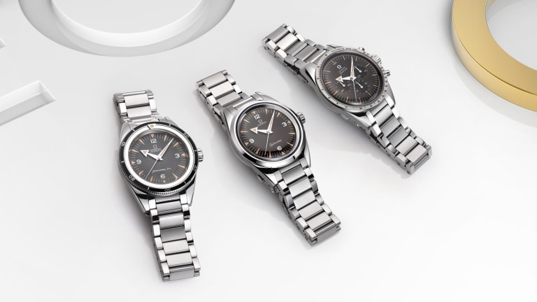Omega's 1957 Trilogy Limited Editions celebrates 60 years of professional timekeeping