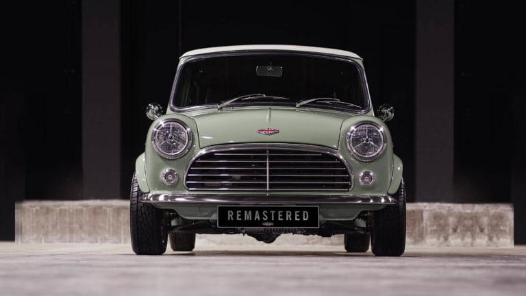 David Brown Automotive unveils the Mini Remastered
