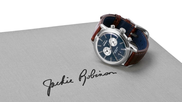 Shinola's Great American Series tips its hat to baseball legend, Jackie Robinson