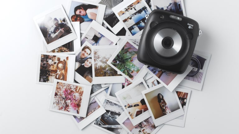 Fujifilm introduces a new Instax camera and a new instant film format