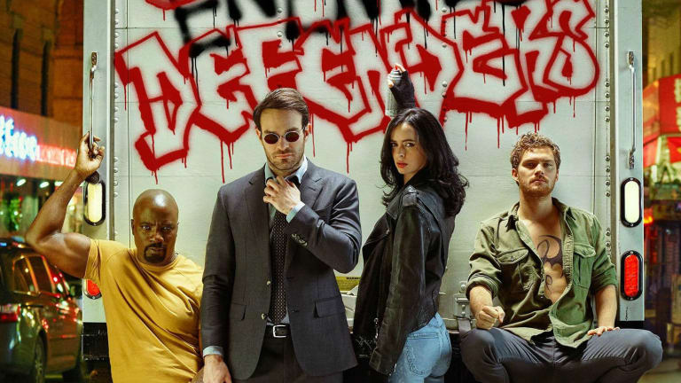 Marvel's street-level superhero squad gets together in the first trailer for The Defenders