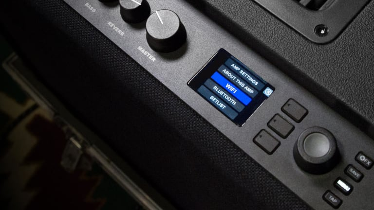 Fenders guitar amps join the Wi-Fi era