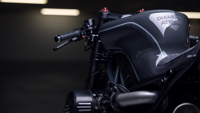 Diamond Atelier turns the R nineT into a high-performance streetfighter