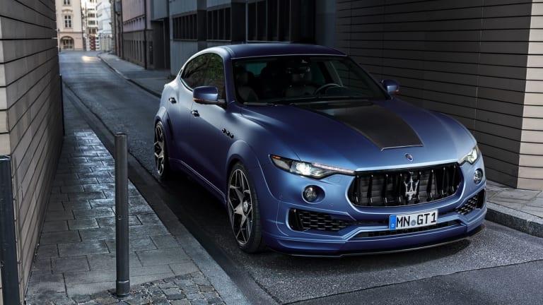 Novitec turns the Maserati Levante into a widebody beast