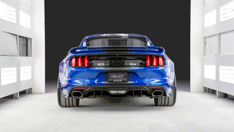 Shelby debuts a 50th Anniversary wide body Super Snake concept