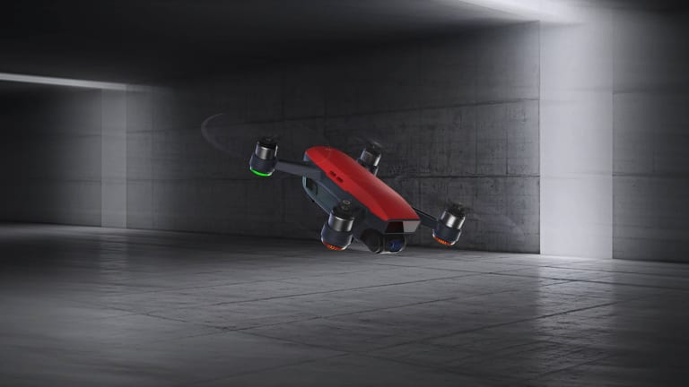 DJI releases its first mini drone, the Spark