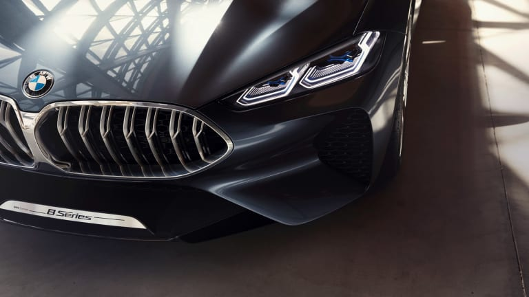 BMW's Concept 8 Series previews the return of their flagship GT
