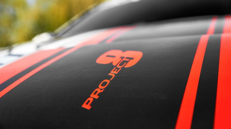 Jaguar teases its most powerful car to date, the XE SV Project 8