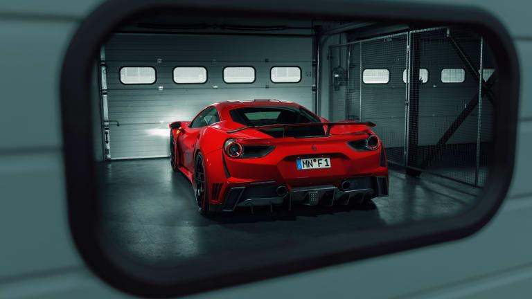 Novitec's N-Largo takes the Ferrari 488 over 210 mph