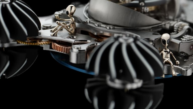 MB&F's newest HM6 turns the watch into an alien mothership