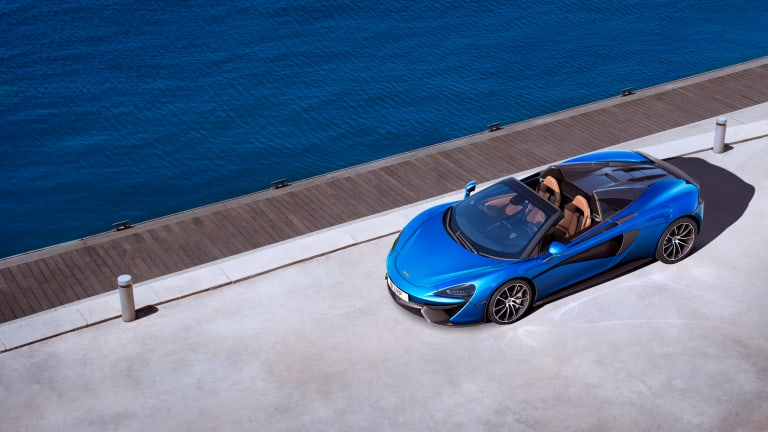 McLaren introduces a new 570S Spider, just in time for summer