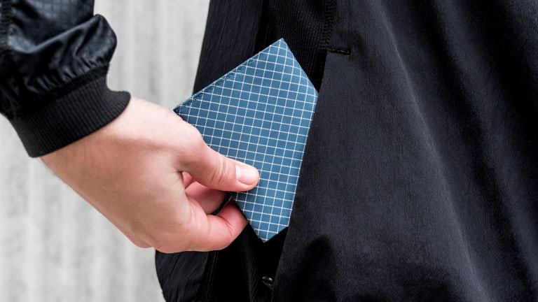 Pioneer designs minimalist wallets with maximum strength