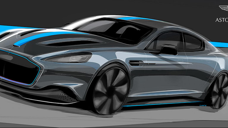 Aston Martin announces production of its first all-electric car