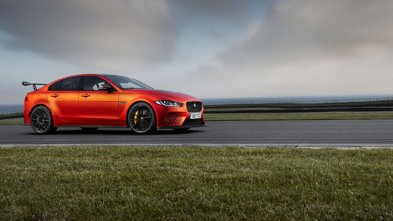 Jaguar unveils its most powerful road car, the XE SV Project 8