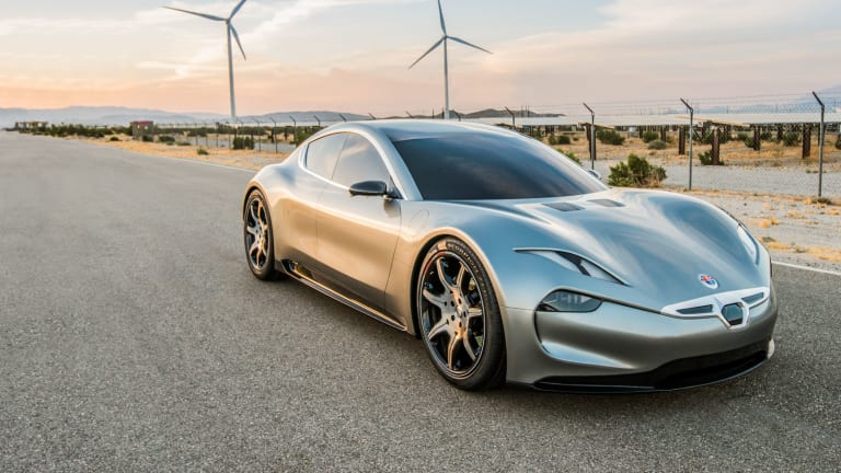 Fisker begins pre-orders of the EMotion EV