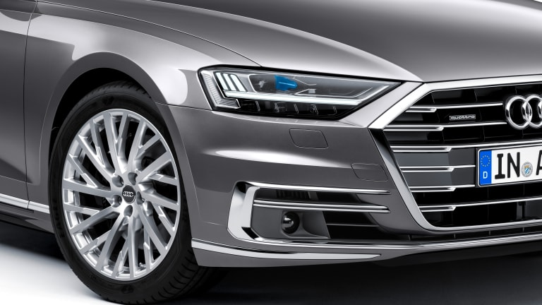 Audi reveals the fourth-generation A8