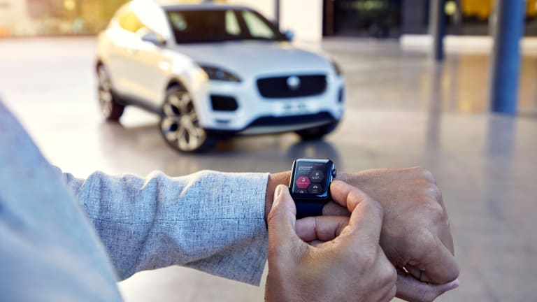 Jaguar debuts the E-Pace