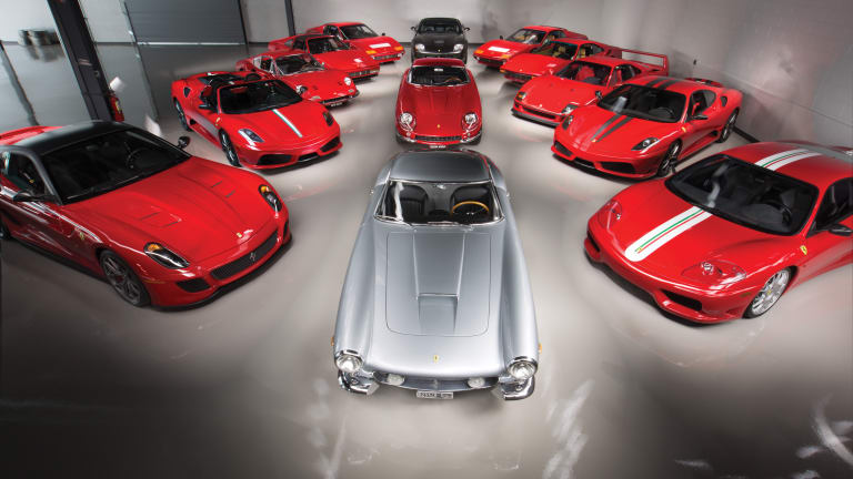 RM Sotheby's announces the Ferrari Performance Collection Auction