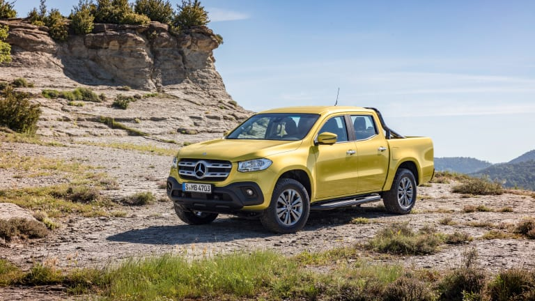 Mercedes pushes luxury and utility with their first pickup