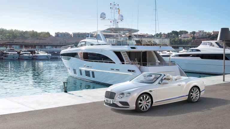 Bentley has built got the perfect Continental GT to match your yacht