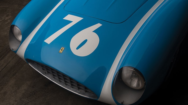 The 1955 121 LM Spider is one jaw-dropper of a Ferrari