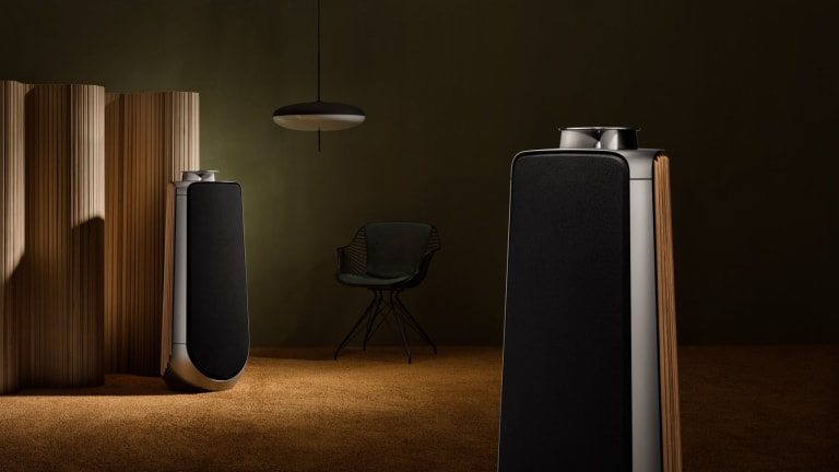 Bang & Olufsen's BeoLab 50 is a 2,100 watt tower of audio firepower