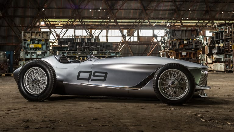 Infiniti surprises everyone with an all-electric retro roadster