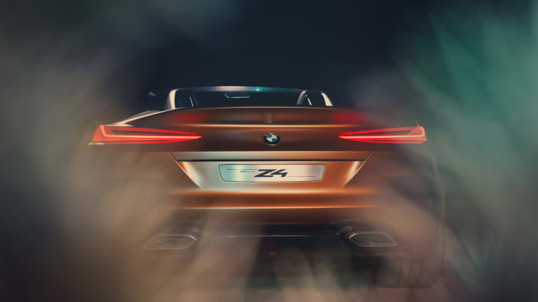 BMW's latest concept previews the next-generation Z4
