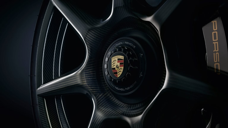 Porsche releases a carbon fiber wheel unlike any other