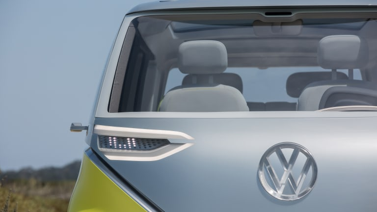 The VW Bus is officially coming back and it's going all-electric