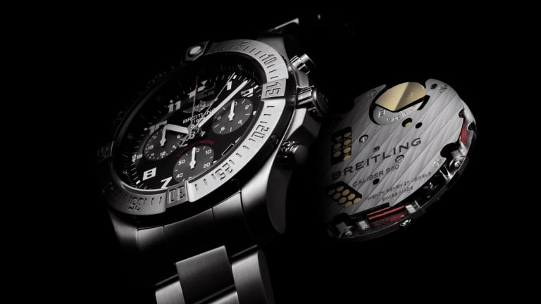 Breitling developed its own SuperQuartz for their latest chronograph