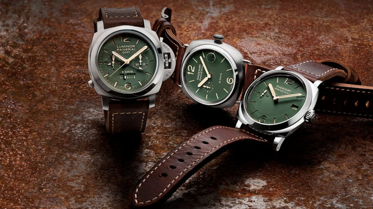 Panerai's Green Dial Collection is one of their best color options yet