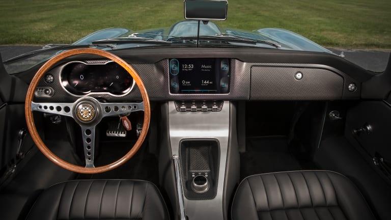 Jaguar has rebooted an E-Type to create the most beautiful electric roadster in the world