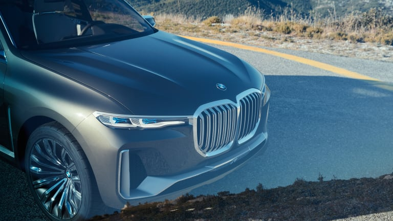BMW previews its new SUV flagship, the Concept X7 iPerformance