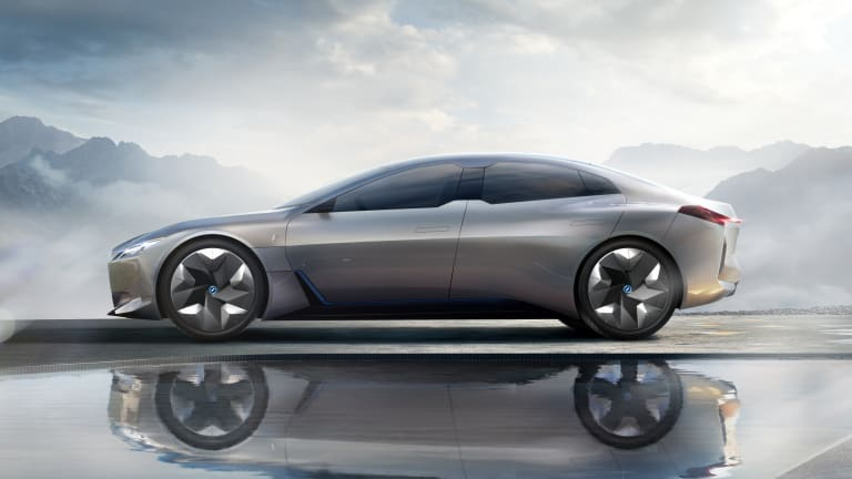 BMW takes on the Model S with an electrified Gran Coupe concept
