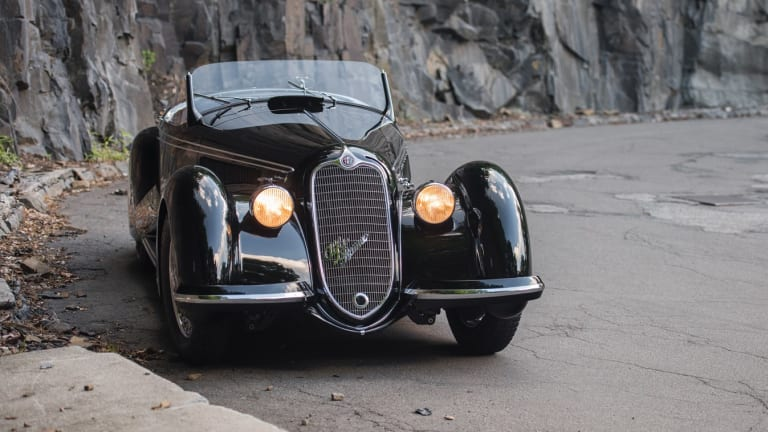 "The 1939 Alfa Romeo 8C 2900B Lungo Touring Spider is the first ""2.9"" to be offered for public sale this century"