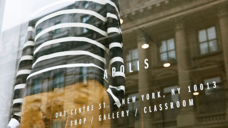 Apolis opens its first New York store