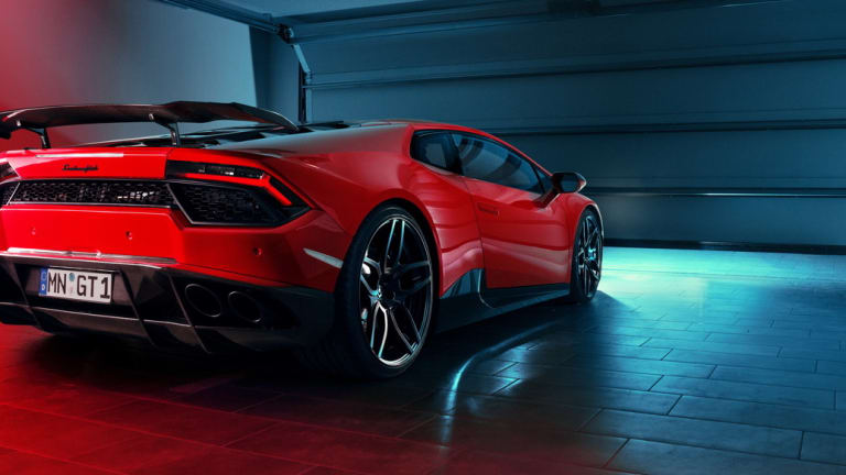 Novitec Torado sends 830 horses into the rear wheels of the RWD Huracan