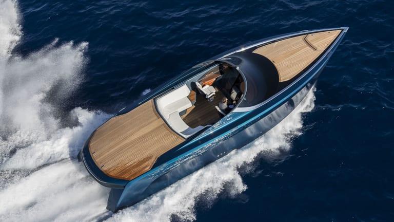 The Aston Martin of the seas makes its debut in Monaco