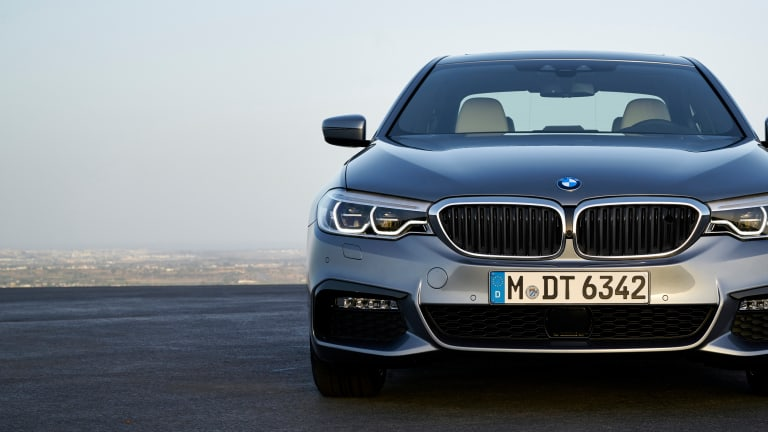 BMW unveils the seventh-generation 5 Series