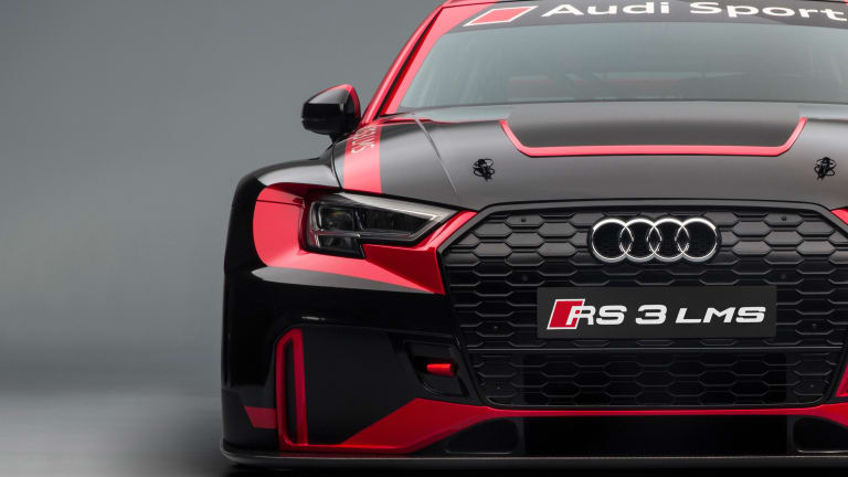 Audi's RS 3 LMS delivers a new option for TCR racers